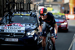 Rohan Dennis (AUS) Ineos Grenadiers during Stage 3 of Paris-Nice 2021, an individual time trial running 14.4km around Gien, France. 9th March 2021.<br /> Picture: ASO/Fabien Boukla | Cyclefile<br /> <br /> All photos usage must carry mandatory copyright credit (© Cyclefile | ASO/Fabien Boukla)