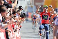 Alejandro Valverde - movistar .Ciclismo giro dell'Andalusia .24/2/2012.4a tappa - Cruzcamp Jaen / La Guardia de Jaen.Foto Insidefoto / Photo News / Panoramic.ITALY ONLY