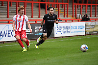 Arthur Read of Stevenage F.C.  during Stevenage vs Salford City, Sky Bet EFL League 2 Football at the Lamex Stadium on 3rd October 2020