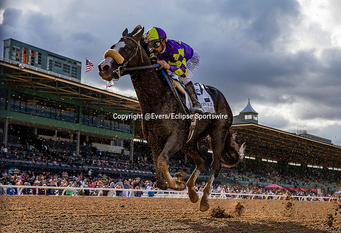 MAR 07: Honor AP with Mike Smith runs second in the San Felipe Stakes at Santa Anita Park in Arcadia, California on March 7, 2020. Evers/Eclipse Sportswire/CSM