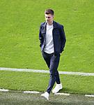 22.06.2021 Croatia v Scotland: Scotland players walkabout on the pitch pre-match, Kieran Tierney