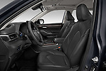 Front seat view of 2021 Toyota Highlander-Hybrid Limited 5 Door SUV Front Seat  car photos