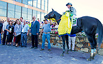 BENSALEM, PENNSYLVANIA - SEPT 23:  It Tiz Well #5, ridden by Draydon Van Dyke , wins the Cotillion Stakes at  Parx Racing on September 23, 2017 in Bensalem, Pennsylvania ( Photo by Sue Kawczynski/Eclipse Sportswire/Getty Images)