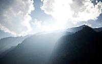 Cervinia climb (2001m)<br /> <br /> Giro d'Italia 2015<br /> stage 19: Gravellona Toce - Cervinia (236km)
