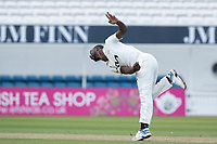 Kemar Roach, Surrey CCC in action during Surrey CCC vs Hampshire CCC, LV Insurance County Championship Group 2 Cricket at the Kia Oval on 1st May 2021