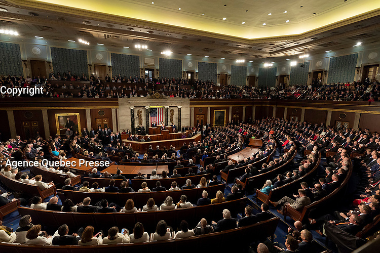2019 State of the Union<br /> <br /> President Donald J. Trump delivers his State of the Union address at the U.S. Capitol, Tuesday, Feb. 5, 2019, in Washington, D.C. (Official White House Photo by Joyce N. Boghosian)