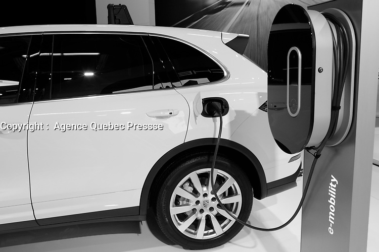 Electrical <br /> 2016 model at Montreal car show. January 15, 2016<br /> <br /> Photo : Pierre Roussel - Agence Quebec Presse<br /> <br /> <br /> <br /> <br /> <br /> <br /> <br /> <br /> <br /> <br /> <br /> .