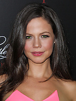 HOLLYWOOD, LOS ANGELES, CA, USA - MAY 31: Tammin Sursok at the 'Pretty Little Liars' 100th Episode Celebration held at W Hotel Hollywood on May 31, 2014 in Hollywood, Los Angeles, California, United States. (Photo by Xavier Collin/Celebrity Monitor)