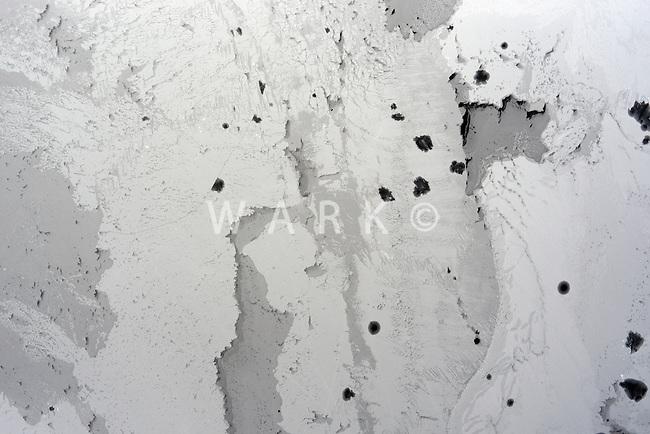 Abstract ice on Lake Pueblo. Feb 2014. 89521