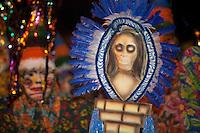 Bloco Xupa Osso. Ele tem como principal atração os bonecos fobós gigantescos. Outra tradição dele é o banho de cheiro do Pará e os banhos de espuma ao longo do caminho, refrescando os foliões, sem contar a maizena que é jogada entre os brincantes em todos os demais blocos. O CARNAPAUXIS é o carnaval de Óbidos. Ele recebe esta denominação em homenagem aos primeiros habitantes da terra obidense, os Índios Pauxis.  Manifestação popular que expressa a história e cultura do povo. Cerca de 30 mil foliões, saem pelas estreitas e enladeiradas da cidade. O carnaval de Óbidos existe desde o início do 1894, porém, neste novo formato, está completando 15 anos.O Mascarado Fobó se tornou o símbolo maior do Carnapauxis, com toda a sua indumentária composta por capacete colorido, a máscara confeccionada artesanalmente, a bexiga, o dominó (roupa tipo macacão de florão), o referee e o elemento essencial da diversão – a Maisena; ele é um boneco gigantesco confeccionado e ornamentado para dar maior colorido e brilhantismo ao evento.