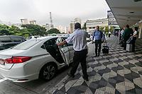SÃO PAULO, SP, 18.03.2019: AEROPORTO DE CONGONHAS -SP- Movimentação intensa de passageiros no aeroporto de Congonhas, na zona Sul da capital Paulista, nesta segunda-feira(18). (Foto: Marivaldo Oliveira/Código19
