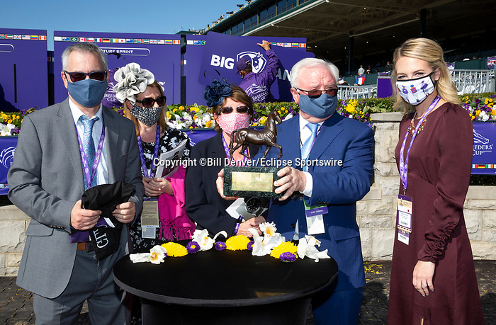 November 7, 2020 : Breeders' Award, Turf Sprint on Breeders' Cup Championship Saturday at Keeneland Race Course in Lexington, Kentucky on November 7, 2020. Bill Denver/Eclipse Sportswire/Breeders' Cup/CSM