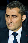 Coach Luis Ernesto Valverde Tejedor of FC Barcelona prior to the UEFA Champions League 2017-18 Round of 16 (2nd leg) match between FC Barcelona and Chelsea FC at Camp Nou on 14 March 2018 in Barcelona, Spain. Photo by Vicens Gimenez / Power Sport Images