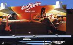 Eric Clapton billboard on the Sunset Strip circa 1970s