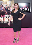 Annie Mumolo attends The Bad Moms L.A Premiere held at The Mann Village Theatre  in Westwood, California on July 26,2016                                                                               © 2016 Hollywood Press Agency