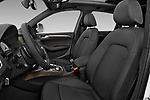 Front seat view of 2015 Audi SQ5 quattro tiptronic Premium 5 Door SUV front seat car photos