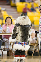 Eskimo and Indian Regalia contest at the 2007 World Eskimo Indian Olympics held in Anchorage, Alaska.