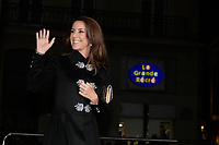 S.A.R LA PRINCESSE MARIE DE DANEMARK ( Marie Agathe Odile Cavallier ) - Lancement des illuminations de noel GOD JUL (joyeux noel danois) au Bazar de l'Hotel de Ville Marais - 15 novembre 2017 - Paris - France