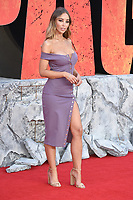 """Lauren Pope<br /> arriving for the """"Rampage"""" premiere at the Cineworld Empire Leicester Square, London<br /> <br /> ©Ash Knotek  D3395  11/04/2018"""
