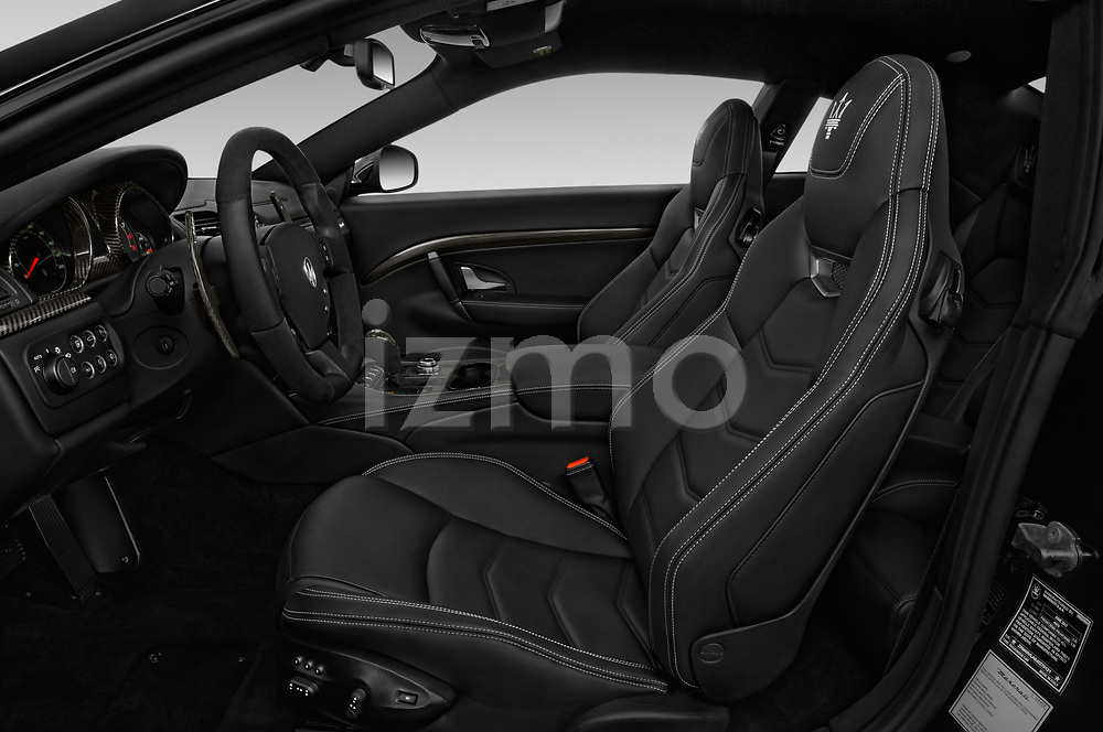 Front seat view of a 2018 Maserati GranTurismo Automatic 2 Door Coupe front seat car photos