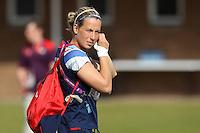 Rachel Brown - Team GB Women training at Cardiff University, Cardiff, Wales - 27/07/12 - MANDATORY CREDIT: Gavin Ellis/SHEKICKS/TGSPHOTO - Self billing applies where appropriate - 0845 094 6026 - contact@tgsphoto.co.uk - NO UNPAID USE.