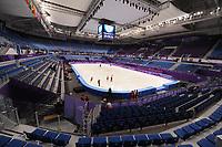 OLYMPIC GAMES: PYEONGCHANG: 09-02-2018, Gangneung Ice Arena, Training session, ©photo Martin de Jong