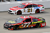 Monster Energy NASCAR Cup Series<br /> Pure Michigan 400<br /> Michigan International Speedway, Brooklyn, MI USA<br /> Sunday 13 August 2017<br /> Erik Jones, Furniture Row Racing, 5-hour ENERGY Extra Strength Toyota Camry and Ryan Blaney, Wood Brothers Racing, Motorcraft / SKF Ford Fusion<br /> World Copyright: Rusty Jarrett<br /> LAT Images