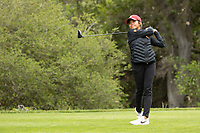 STANFORD, CA - APRIL 25: Brianna Navarrosa at Stanford Golf Course on April 25, 2021 in Stanford, California.