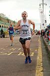 2019-11-17 Brighton 10k 03 AB Finish