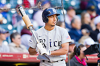 Anthony Rendon #23 of the Rice Owls waits for his turn to hit during the game against the Baylor Bears at Minute Maid Park on March 6, 2011 in Houston, Texas.  Photo by Brian Westerholt / Four Seam Images