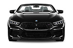 Car photography straight front view of a 2021 BMW M8 M8-Competition 2 Door Coupe Front View