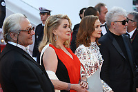 GEORGE MILLER, CATHERINE DENEUVE, ISABELLE HUPPERT AND PEDRO ALMODOVAR - RED CARPET OF THE 70TH ANNIVERSARY CEREMONY AT THE 70TH FESTIVAL OF CANNES 2017