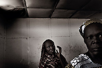 Wau, South Sudan. 18 March 2011...Family members of patients in the missionary hospital in Wau, the second largest city in Southern Sudan, managed by the Combonian sisters..