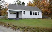 Groton School House in Groton, New Hampshire USA
