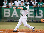 Osceola Warriors varsity baseball against the Tampa Catholic Crusaders at Tampa Catholic High School on February 22, 2012 in Tampa, Florida.  (Photo By Mike Janes Photography)