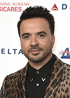 LOS ANGELES - JANUARY 24:  Luis Fonsi at the 2020 MusiCares Person of the Year tribute concert honoring Aerosmith on January 24, 2020 in Los Angeles, California. (Photo by Scott Kirkland/PictureGroup)