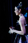 English National Ballet dancer Fernanda Oliveira watching from the wings
