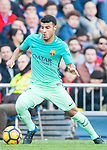 Rafael Alcantara Do Nascimento, Rafinha, of FC Barcelona in action during their La Liga match between Atletico de Madrid and FC Barcelona at the Santiago Bernabeu Stadium on 26 February 2017 in Madrid, Spain. Photo by Diego Gonzalez Souto / Power Sport Images