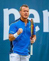 Den Bosch, Netherlands, 13 June, 2018, Tennis, Libema Open, Lleyton Hewitt (AUS)<br /> Photo: Henk Koster/tennisimages.com