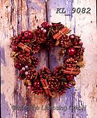 Interlitho-Alberto, CHRISTMAS SYMBOLS, WEIHNACHTEN SYMBOLE, NAVIDAD SÍMBOLOS, photos+++++,wreath,KL9082,#xx#
