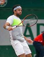 France, Paris, 28.05.2014. Tennis, French Open, Roland Garros, Florin Mergea (ROU)<br /> Photo:Tennisimages/Henk Koster