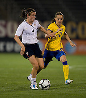 Heather O'Reilly, Kosovare Asilani. The USWNT defeated Sweden, 3-0.
