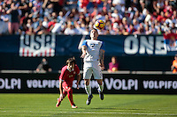 San Diego, CA - Sunday January 29, 2017: Greg Garza during an international friendly between the men's national teams of the United States (USA) and Serbia (SRB) at Qualcomm Stadium.