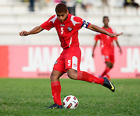 Roberto Chen. Canada played Panama during the CONCACAF Men's Under 17 Championship at Catherine Hall Stadium in Montego Bay, Jamaica.