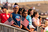 EAST HARTFORD, CT - JULY 5: Fans after a game between Mexico and USWNT at Rentschler Field on July 5, 2021 in East Hartford, Connecticut.