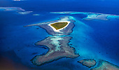 Ilot Kouaré, lagon sud