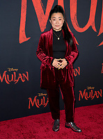 """LOS ANGELES, CA: 09, 2020: Sherry Cola at the world premiere of Disney's """"Mulan"""" at the El Capitan Theatre.<br /> Picture: Paul Smith/Featureflash"""