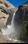 Lower Yosemite Fall during Spring Flood, Yosemite National Park