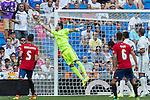 Real Madrid's Kiko Casilla during the match of La Liga between Real Madrid and Club Atletico Osasuna at Santiago Bernabeu Estadium in Madrid. September 10, 2016. (ALTERPHOTOS/Rodrigo Jimenez)