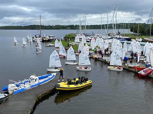 Optimists go afloat at Lough Derg for the 2021 National Championships